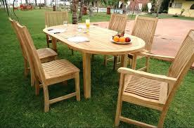 teak outdoor dining set wood patio furniture amazing wicker teak patio set d2