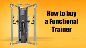 How To Buy A Functional Trainer The Basics Fitness Town