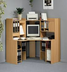Hidden Printer Cabinet Computer Desk With Hidden Printer Storage Hostgarcia