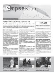 Erpse Krant 2019 Editie 1 By Erpse Krant Issuu