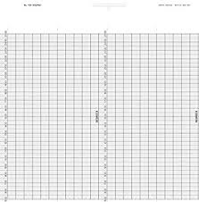 Graphic Controls B962mgd Strip Chart Fanfold Range 500 To