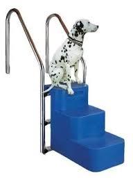 Diese treppe für hunde gibt es in 2 verschiedenen größen und 2 verschiedenen farben. Aktion Hundeleiter 3 Stufig Hundetreppe Tiertreppe Schwimmbad Schwi Schwimmbadbau24