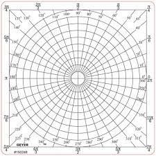 Free Polar Co Ordination Graph Paper Print Graph Paper