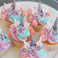 Unicorn Cupcakes 6 Pack