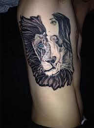 татуировки львов фото значение