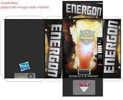Papercraft Vending Machine Magnificent Papercraft Energon Soda Machine Template By Lovefistfury On DeviantArt