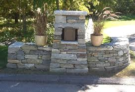 stone mailbox designs. Stone Mailbox Entry Post At Driveway. T . Designs