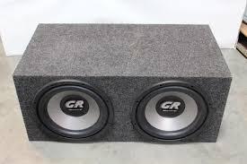 speakers in box. speakers in box property room