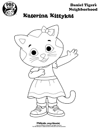 Daniel Tiger Coloring Pages Daniel Tiger Coloring Pages Printable