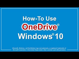 What Is Ms Onedrive How To Use Onedrive In Windows 10 Youtube