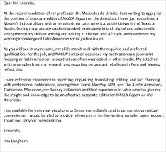 Sample Editorial Assistant Cover Letters 13 Documents In