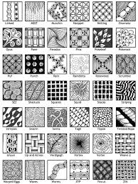 Zentangle Pattern Cool Design Inspiration