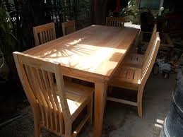jerome s six seater mahogany dining table