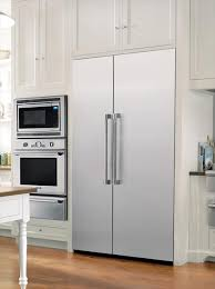thermador 48 refrigerator. traditional thermador professional kitchen featuring freedom refrigeraton and combo microwave, built-in oven 48 refrigerator u