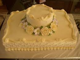 Sheet Cake Wedding Cakecentralcom