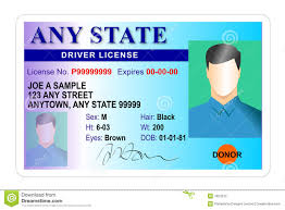Stock Identity 7824575 Card Driver Card Of - Driver License Illustration
