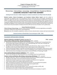 Executive Resume Samples Simple Executive Resume Samples