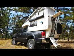 The GZL Pickup Truck Camper - YouTube