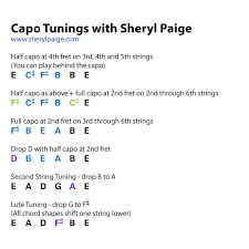 Music Space Episode 7 Guitar Capo Tips With Sheryl Paige