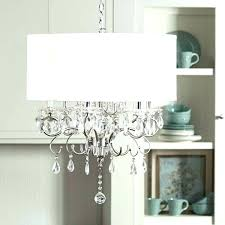 chandelier lamp shades with crystals mini