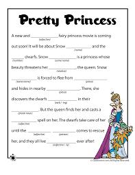 Summer Mad Libs Pretty Princess Mad Libs – Classroom Jr. | Be my ...