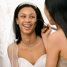 wear a white dress if you re having your make up test so that you can see how the make up looks against a pale colour and take a picture of yourself in day