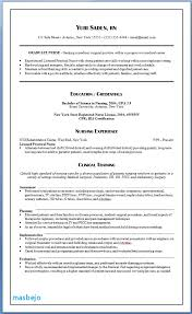 Nursing Resume Examples With Clinical Experience Cology Nurse Resume