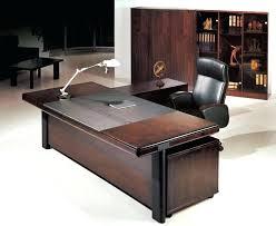 black office table. Reclaimed Black Office Table