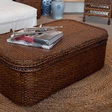rattan coffee table chest brown 2 jpg