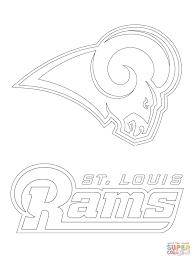 St Louis Rams Logo Super Coloring
