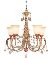 savoy house tracy porter venice 5 light chandelier in vintage gold 1 9559 5 300