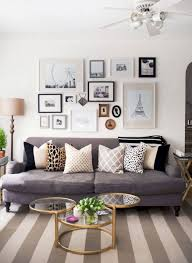 Diy Small Apartment Decorating Ideas On A Budget (6. Gallery Wall Living  Room ...