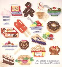 Junk Food Chart Junk Food Fridge Magnets Cross Stitch Chart 21 Designs