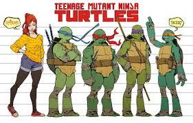 ninja turtles names girl. Plain Girl Tmnt Mateus Santolouco Names On Ninja Turtles Girl O