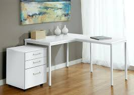 l shaped computer desk white excellent awesome modern white l shaped corner parsons desk with mobile