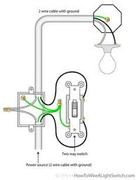 wiring diagrams for lights fans and one switch the 2 way switch power feed via the light switch how to wire a light