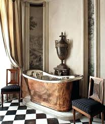 antique copper bathtub chic bathroom with copper bathtub antique copper bathtub craigslist