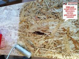 Strapazierfähige und trittfeste oberflächen mit hartölen und hartwachsen. Osb Platten Klarlack Fussboden Holzlack Holzbeschichtung Spanplatten 3kg Ep 2k Ebay