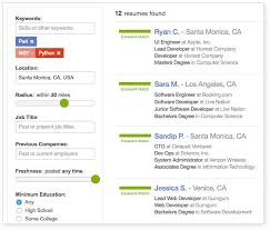 Search For Resumes Best Search Resume Database ZipRecruiter