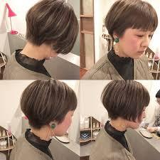 ツーブロック前下がりショートボブで最高にクールな方程式が完成hair