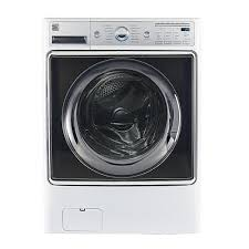 kenmore elite washer and dryer white. kenmore elite smart front-load washer and dryer white