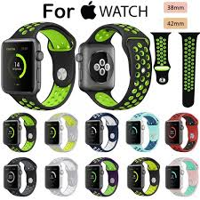 apple nike watch series 2. silicone sports band for nike apple watch series 2