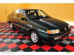 1996 Emerald Green Pearl Metallic Volkswagen Passat GLS Sedan ...