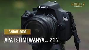 Hands-On Kamera DSLR Canon 1300D - YouTube