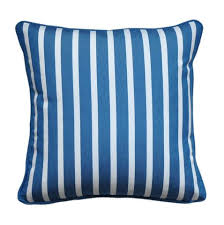 blue and white pillows. Delighful White Blue And White Striped Pillow Cover  Sunbrella Fabric Intended And Pillows R