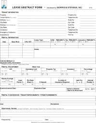 Commercial Lease Contract Template Combined With Commercial Rental ...