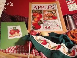 Cross Stitch Chart Mamas Apple Pie Fruit Pie Charts Only