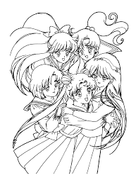 Small Picture Sailormoon Coloring Pages Coloringpages1001com