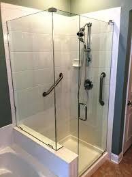 glass shower enclosures shower doors fl glass shower enclosures cost