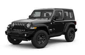 Jeep Wrangler Model Comparison Chart 2019 Jeep Wrangler Sport Vs Sport S Vs Sahara Vs Rubicon